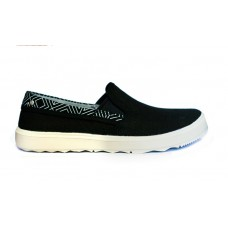 94090 Полуботинки жен. AROUND TOWN CITY MOC CANVAS Women's Low Shoes черный